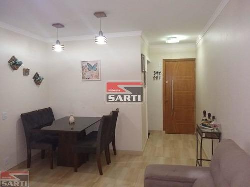 Com Sacada -  Cozinha Planejada. - St15746