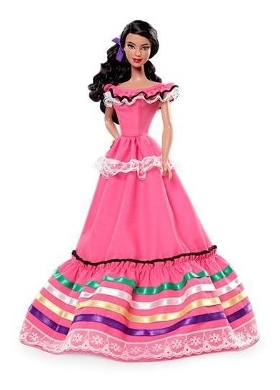 Boneca Coleção Barbie Collector México Of The World Mexico