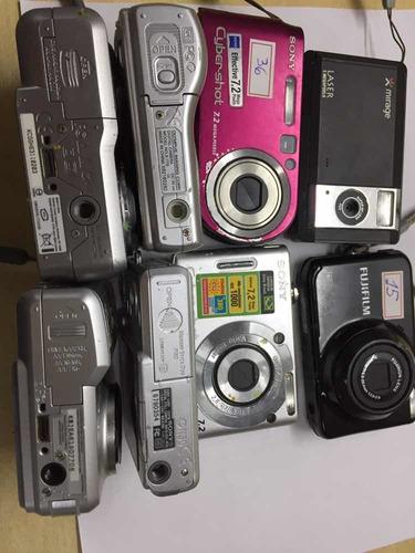 Câmeras Digital Sony Dsc W30, Fujifilm Kodak, Olympus X775