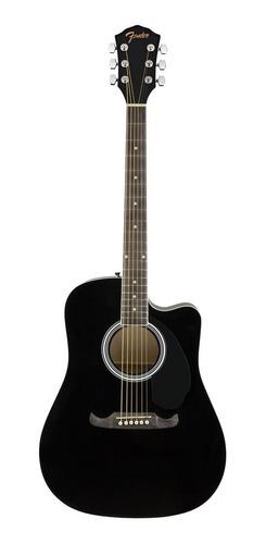 Guitarra electroacústica Fender  Alternative FA-125CE black
