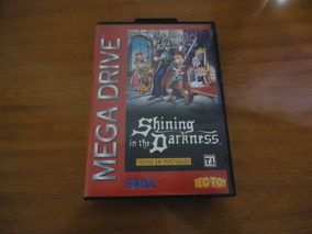 Shining In The Darkness Br Mega Drive Original