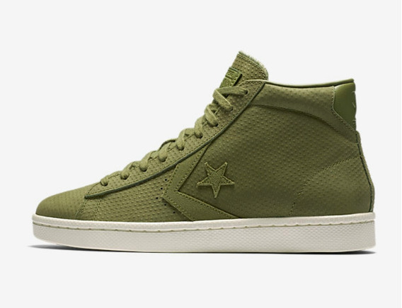 converse leather pro metallic mujer
