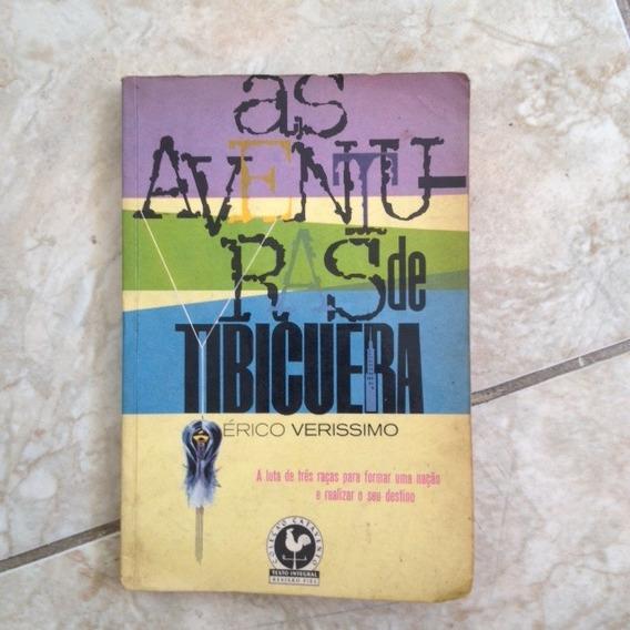 Livro As Aventuras De Tibicuera - Erico Verissimo 1963