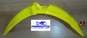 Paralama Dianteiro Moto Honda Pop 100 Amarelo 2007 Á 08