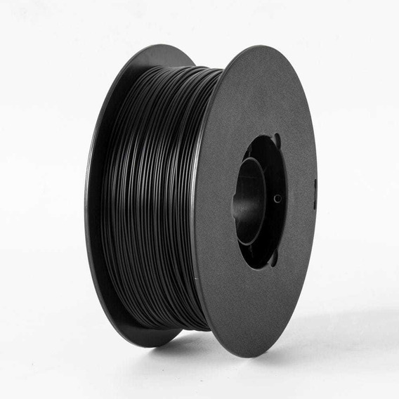 Filamento Impressora 3d Pla Preto 1kg - Flashfoge