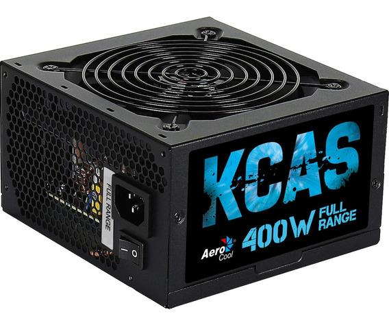 Fonte Atx Kcas 400w Full Range 80 Plus White Pfc Ativo Aeroc