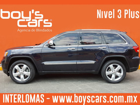 Unidad Blindada Jeep Grand Cherokee 2011 Nivel 3 Plus