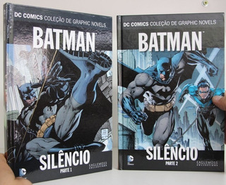 Batman. Silêncio 1 E 2 (completo) Hq Capa Dura Ótimo Estado
