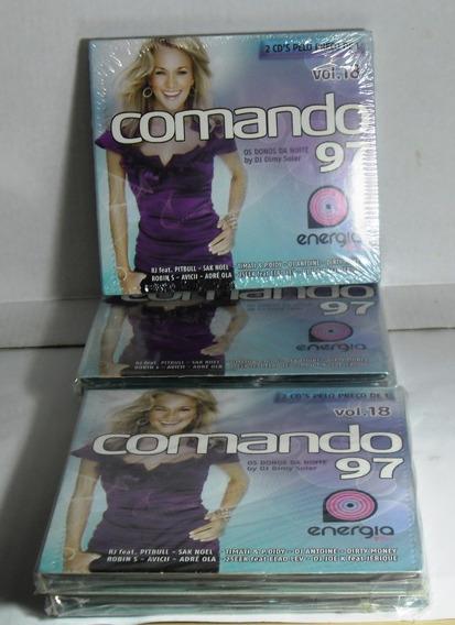 Comando 97 Os Donos Da Noite Vol 18 Cd Duplo Dance Pop Funk