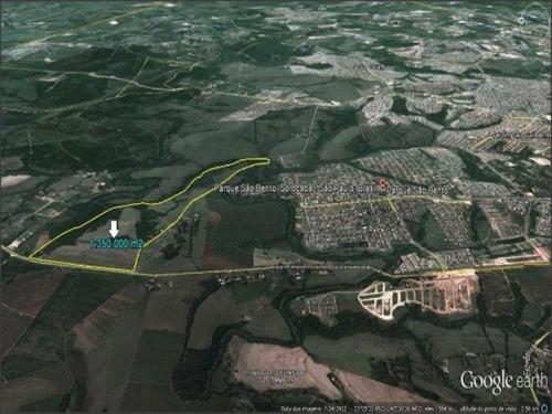Imagem 1 de 1 de Área À Venda, 880211 M² Por R$ 79.250.000,00 - Parque São Bento - Sorocaba/sp - Ar0005 - 67639998