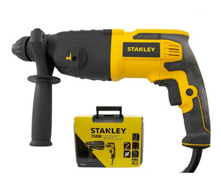 Martillo Rotopercutor Stanley 26mm 3 Modos Sds Plus 750w