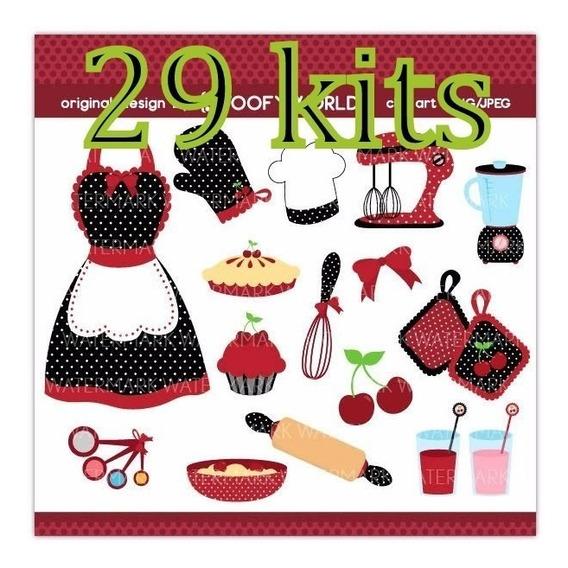 Kit Scrapbook Cozinha Arte Papelaria E Armarinho No Mercado