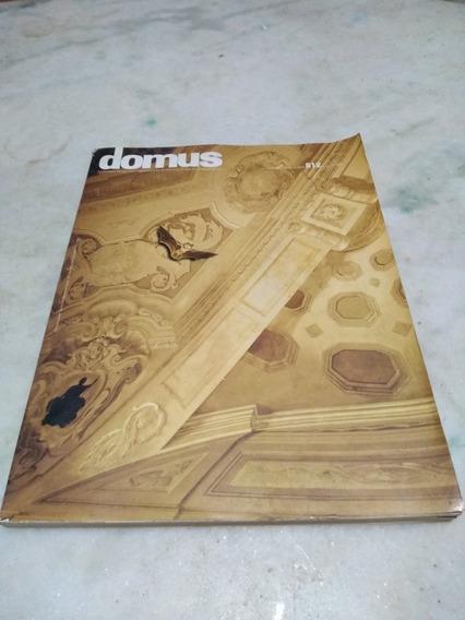 Revista Domus N 812 Fevereiro De 1992 - Arquitetura Design