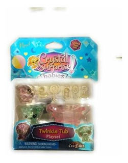 Crystal Sorpresa Bebes Sparkle Carriola Playset