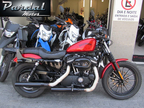 Harley Davidson 883 Iron 2013 Laranja
