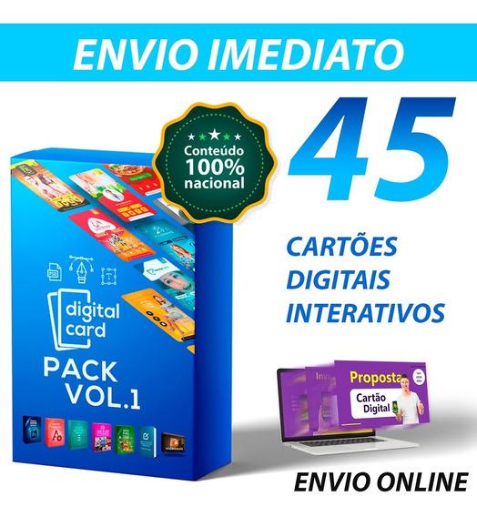 Cartão Interativo Digital 100% Editável Photoshop + Bônus