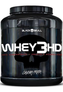 Whey 3hd 1,8kg 3w - Black Skull - Caveira Preta - Promoção