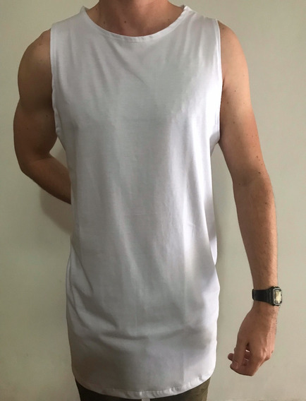Regata Masculina 5 Pç Oversized Swag Longline Reta
