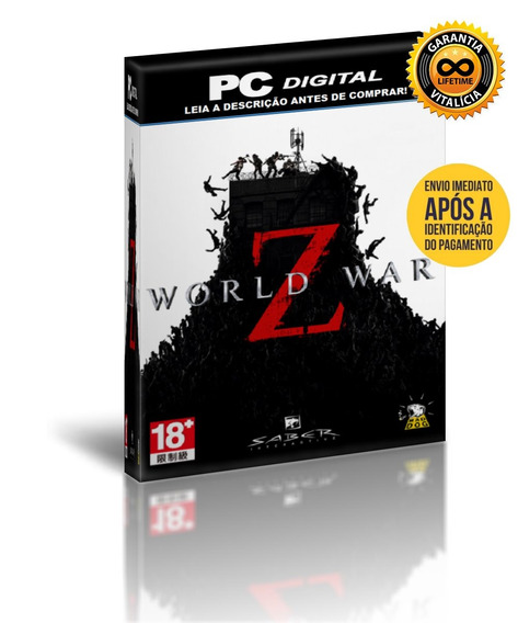 World War Z - Pc Digital Offline + Brinde