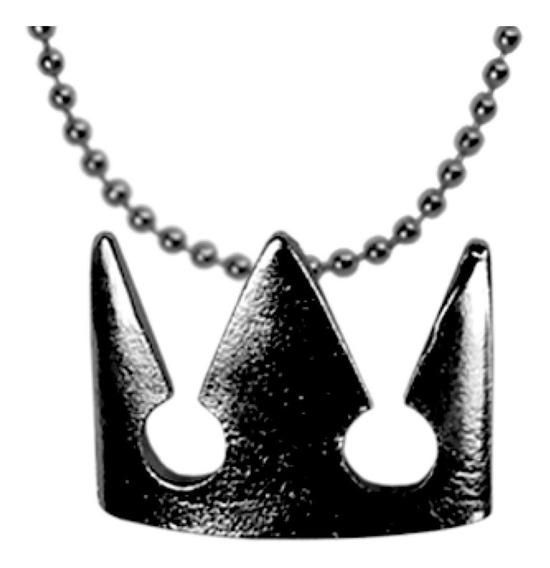 Kingdom Hearts Dije Collar Llavero Corona