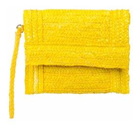 Bolsa Clutch Amarelo Le Lis Blanc