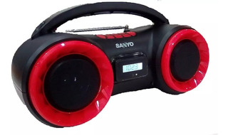 Parlante Inalambrico Bluetooth Stereo Sanyo Bth16 Mp3 Am/fm