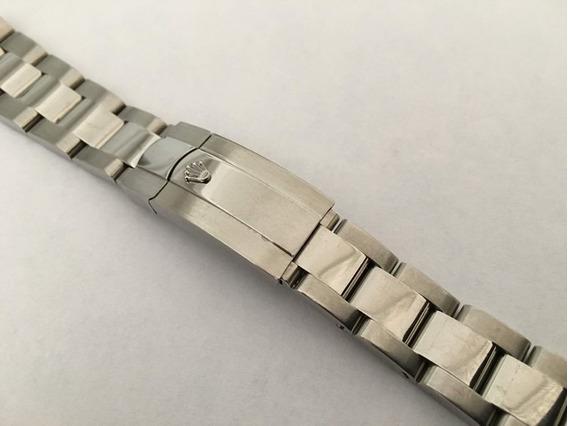 Pulseira Rolex Aço Feminina 17mm Peça Unica