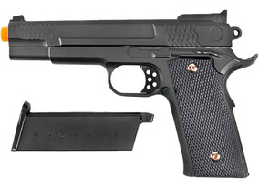 Pistola De Airsoft Spring G20 Full Metal 6mm - Galaxy U