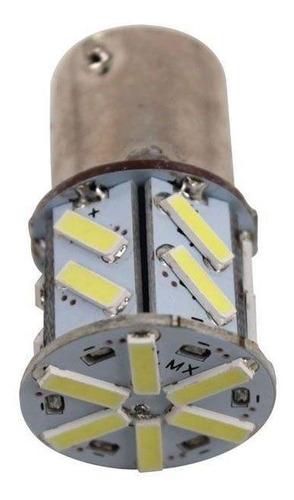 Imagem 1 de 1 de Lâmpada Led 1 Polo 12v 18smd7020 Branca