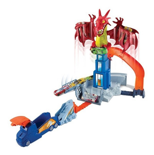 Pista Dragón Original Hotwheels De Mattel