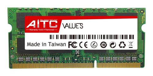 Imagen 1 de 1 de Memoria Ram 4 Gb 1600mhz Ddr3l 1.35v Sodimm Aitc