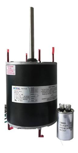 Motor Ventilador Ac 3/4 Hp Un Solo Eje 1/2 220v 4,7 Amp 10mf