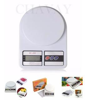 Balanza Cocina Digital 10kg + Pilas Lista Para Usar!!