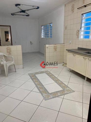 Sobrado Com 3 Dormitórios, 170 M² - Venda Por R$ 480.000,00 Ou Aluguel Por R$ 2.500,00/mês - Nova Petrópolis - São Bernardo Do Campo/sp - So0935