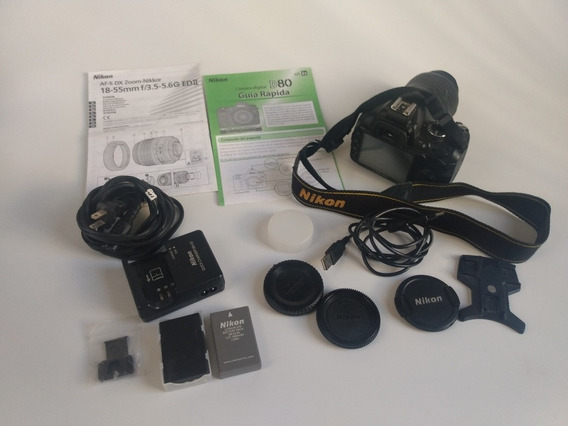 Câmera Fotográfica Nikon D3000 + Lente 18-55mm