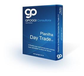 Planilha - Gestão De Day Trade (ind, Dol, Win, Wdo) 2.0