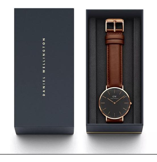 Daniel Wellington Dw00100124. Reloj De Caballero Original