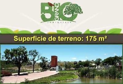 Hermoso Terreno De 180 M2 En Bio-grand, Juriquilla. Ganelo!!