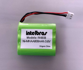 Bateria In480b 3.6v 800mah P/ Intelbras Cf4000 5002 Original