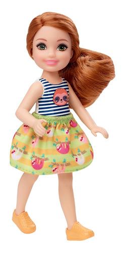 Imagen 1 de 6 de Barbie, Chelsea Amigos Playera Rayas Ginger