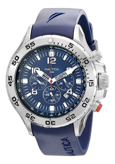 Relógio Masculino Nautica-n14555 Original