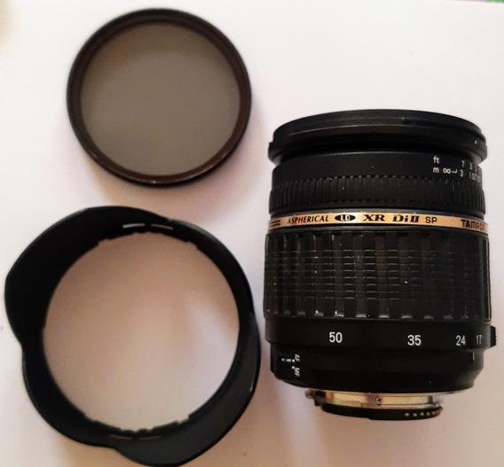 Lente Tamron 17 X 50 Mm 2.8 Xr Di Ii Sp Nikon Filtro Polariz