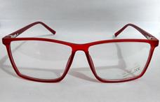 Armacao Retro Quadrada - Óculos Armações Vermelho no Mercado Livre ... 8dd45c2a35