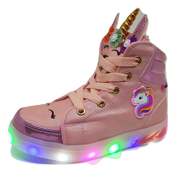 Zapatillas Botitas Luces Led My Little Pony Del 21 Al 32