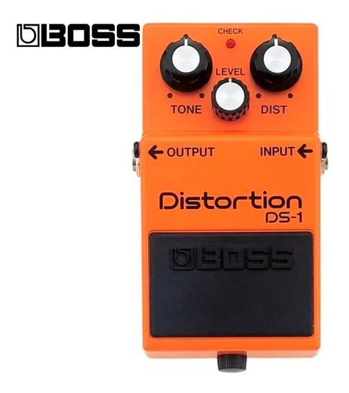 Pedal Boss Ds1 Distorção Ds 1 Guitarra - Original Com Nfe
