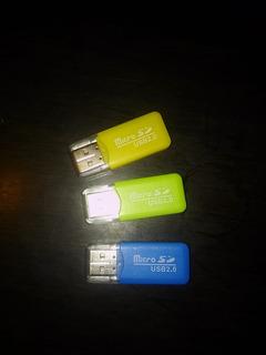 Micro Sd Card Reader. Adapador Tarjetas Micro Sd A Usb