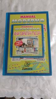 Tomo De 5 Libros De Manual Moderno De Informática