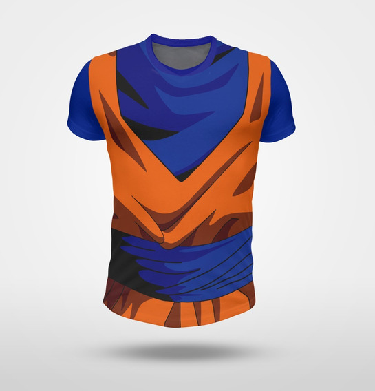 Remera Traje Kimono Goku Dragon Ball Z Full Print
