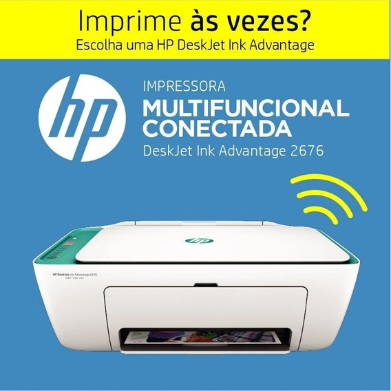 Multifuncional Hp Wireless Ink Advantage 2676 Imp. Cop. Scan