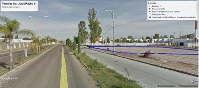 Terreno Comercial En Av. Juan Pablo Ii